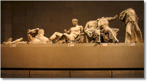 The Parthenon Marbles, east pediment