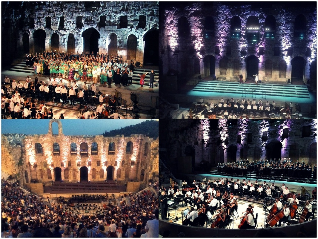The Official Opening Ceremony which took place at the Odeum of Herodes Atticus at the first day of the congress.