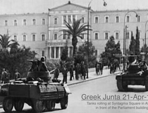 Greek Junta 21-Apr-1967